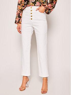Tory Burch Tory Burch Bootcut Jeans Button Fly Denim 64932 Weiß Regular Fit