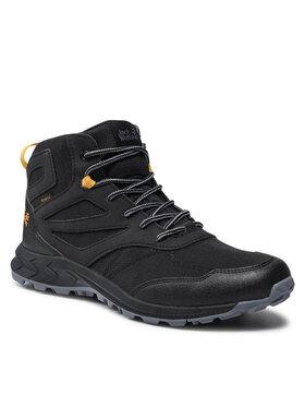 Jack Wolfskin Jack Wolfskin Трекінгові черевики Woodland Texapore Mid K 4042152 Чорний
