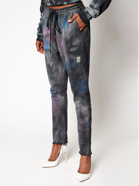 One Teaspoon One Teaspoon Pantaloni trening Tie Dye 23933 Gri Loose Fit