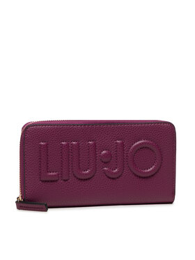 Liu Jo Liu Jo Portefeuille femme grand format Xl Zip Around NF1268 E0086 Violet