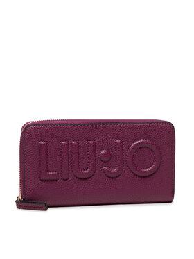 Liu Jo Liu Jo Veľká dámska peňaženka Xl Zip Around NF1268 E0086 Fialová