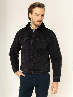 TOMMY HILFIGER TOMMY HILFIGER Giacca di jeans Trucker MW0MW12555 Nero Regular Fit