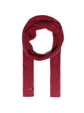 Tommy Jeans Tommy Jeans Schal Tjw Basic Flag Rib Scarf AW0AW09008 Dunkelrot
