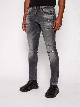 G-Star Raw G-Star Raw Skinny Fit džíny Revend 51010-A634-B841 Šedá Skinny Fit