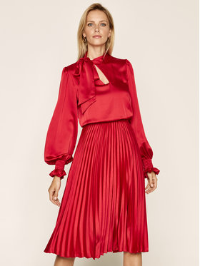 Nissa Nissa Vakarinė suknelė RS11787 Raudona Regular Fit