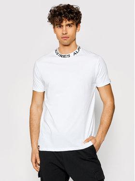 Alpha Industries Alpha Industries T-Shirt Print 126548 Weiß Regular Fit