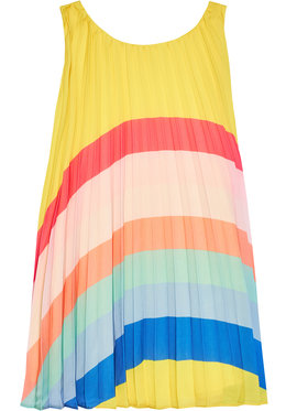 Billieblush Billieblush Každodenné šaty U12647 Žltá Regular Fit