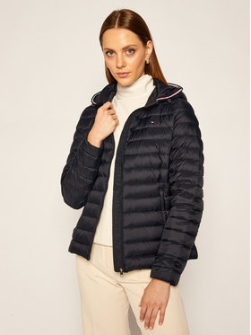 TOMMY HILFIGER TOMMY HILFIGER Пухено яке Essential WW0WW25155 Тъмносин Regular Fit