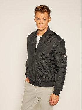 Calvin Klein Jeans Calvin Klein Jeans Bomber dzseki J30J315691 Fekete Regular Fit