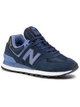 New Balance New Balance Sneakersy WL574LBG Granatowy