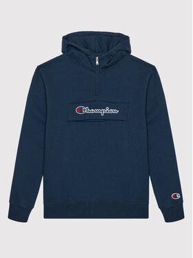 Champion Champion Bluza Half Zip 305768 Granatowy Regular Fit