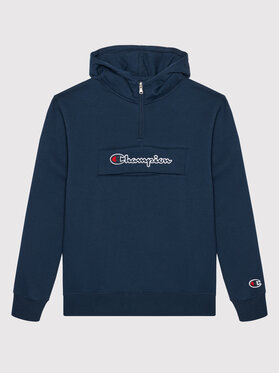 Champion Champion Μπλούζα Half Zip 305768 Σκούρο μπλε Regular Fit