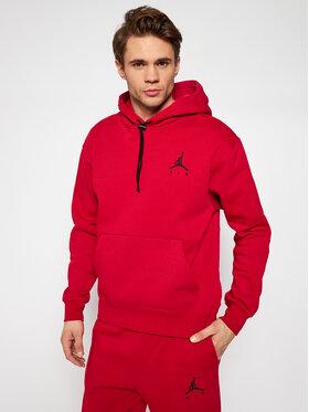 Nike Nike Sweatshirt Jordan Jumpman Air CK6684 Rot Standard Fit