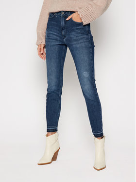 Calvin Klein Calvin Klein Skinny Fit džíny K20K202479 Tmavomodrá Skinny Fit