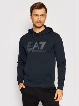 EA7 Emporio Armani EA7 Emporio Armani Bluza 6KPM62 PJ05Z 1578 Granatowy Regular Fit