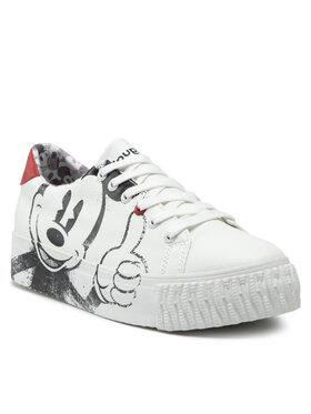 Desigual Desigual Sneakers 21WSKP27 Alb