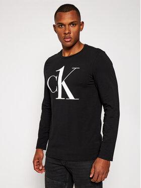 Calvin Klein Underwear Calvin Klein Underwear Marškinėliai ilgomis rankovėmis Crew 000NM2017E Juoda Regular Fit