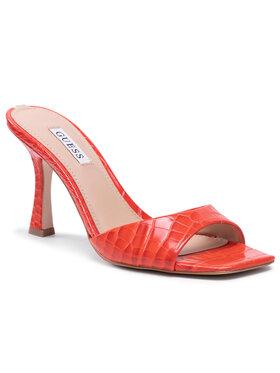 Guess Guess Mules / sandales de bain Seala FL6SE2 PEL19 Orange