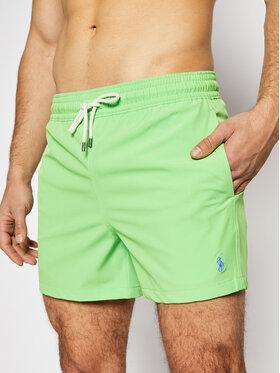 Polo Ralph Lauren Polo Ralph Lauren Pantaloni scurți pentru înot Traveler 710837404 Verde Slim Fit