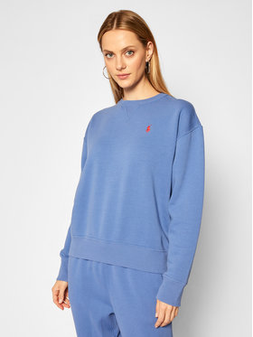 Polo Ralph Lauren Polo Ralph Lauren Sweatshirt Seasonal 211794395006 Blau Regular Fit