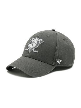 47 Brand 47 Brand Kšiltovka Anaheim Ducks H-GWMVP25GWS-CCA Šedá