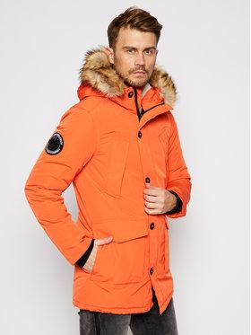 Superdry Superdry Zimná bunda Everest M5010204A Oranžová Regular Fit