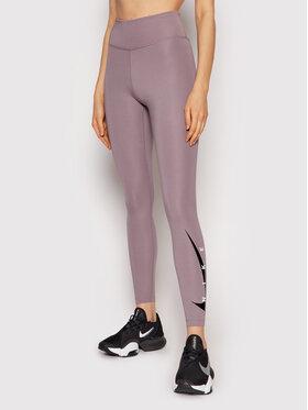Nike Nike Leggings Swoosh Run DA1145 Grau Tight Fit