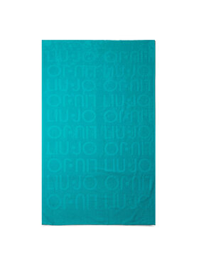 Liu Jo Liu Jo Πετσέτα Telo Spugna Jacquar VA0217 T0300 Μπλε