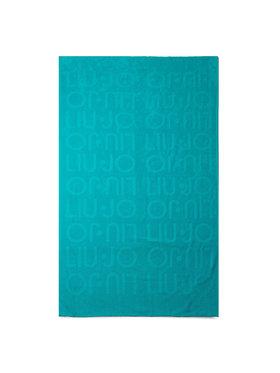 Liu Jo Liu Jo Ręcznik Telo Spugna Jacquar VA0217 T0300 Niebieski