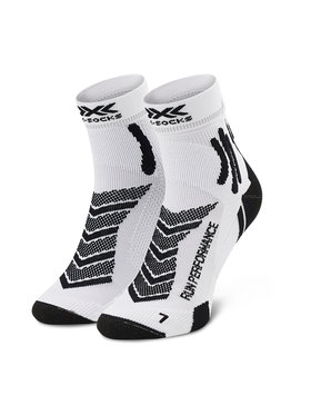 X-Socks X-Socks Чорапи дълги мъжки Run Performance XSRS15S19U Бял