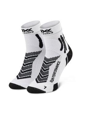 X-Socks X-Socks Skarpety Wysokie Męskie Run Performance XSRS15S19U Biały