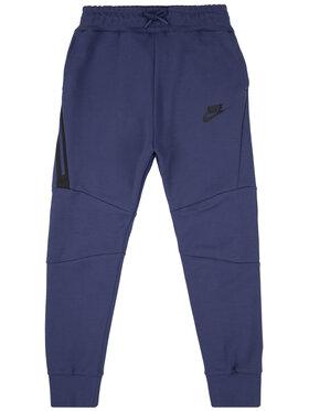 Nike Nike Sportinės kelnės Big Kids' Tech Fleece 804818 Violetinė Slim Fit