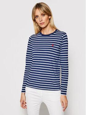 Polo Ralph Lauren Polo Ralph Lauren Bluză Lsl 211827924001 Bleumarin Regular Fit