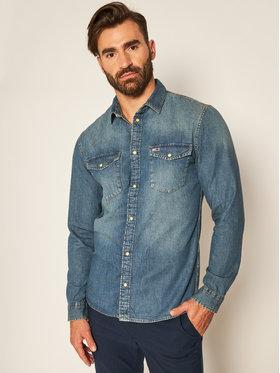 Tommy Jeans Tommy Sport Camicia Tjm Western Denim DM0DM08402 Blu Regular Fit