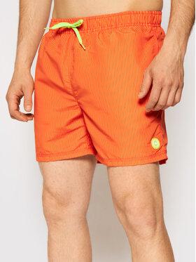 CMP CMP Szorty kąpielowe 3R50857 Pomarańczowy Regular Fit