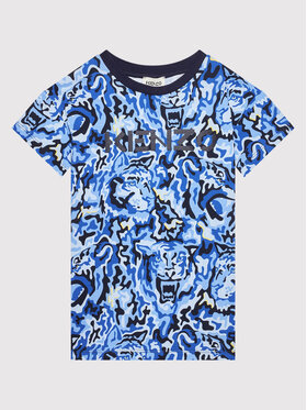 Kenzo Kids Kenzo Kids T-Shirt K25191 Granatowy Regular Fit
