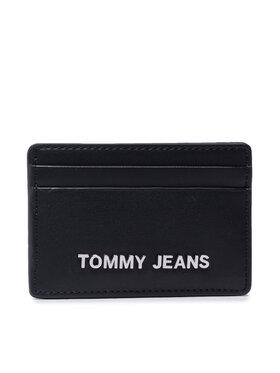 Tommy Jeans Tommy Jeans Etui pentru carduri Tjw Ess Cc Holder AW0AW10178 Negru