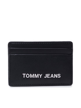 Tommy Jeans Tommy Jeans Калъф за кредитни карти Tjw Ess Cc Holder AW0AW10178 Черен