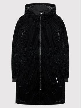 KARL LAGERFELD KARL LAGERFELD Kabát Z16118 S Fekete Regular Fit