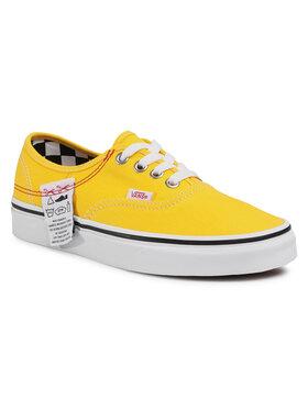 Vans Vans Tenisówki Authentic Hc VN0A4UUC1AE1 Żółty