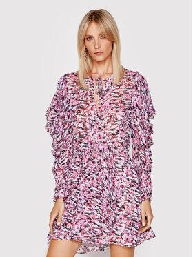 IRO IRO Kokteilinė suknelė Okoo A0551 Rožinė Regular Fit