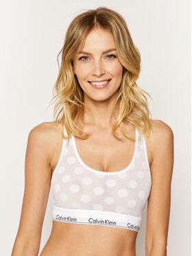 Calvin Klein Underwear Calvin Klein Underwear Сутиен-топ Unlined 000QF5847E Бял