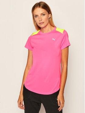 Puma Puma Koszulka techniczna Ignite Ss 518255 Różowy Regular Fit