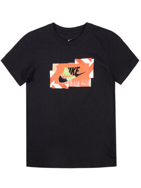 NIKE NIKE T-Shirt Hazard CK5770 Μαύρο Standard Fit