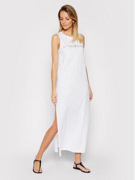 Emporio Armani Emporio Armani Sukienka plażowa 262635 1P340 71610 Biały Regular Fit