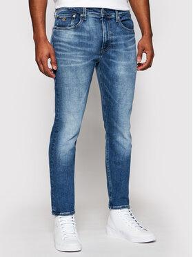 Calvin Klein Jeans Calvin Klein Jeans Traperice J30J317233 Plava Skinny Fit
