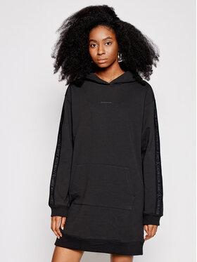 Calvin Klein Jeans Calvin Klein Jeans Úpletové šaty J20J216348 Černá Regular Fit