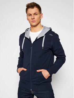 CMP CMP Sweatshirt 3C88677T Bleu marine Slim Fit