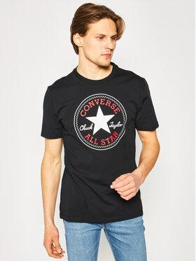 Converse Converse T-Shirt Chuck Pack 10007887-A01 Czarny Regular Fit