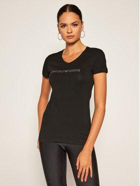 Emporio Armani Underwear Emporio Armani Underwear Marškinėliai 163321 0A263 00020 Juoda Slim Fit